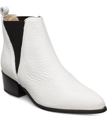 karen shoes boots ankle boots ankle boot - heel vit pavement