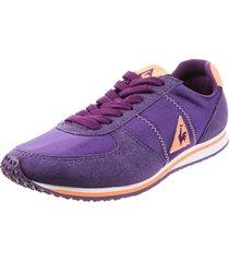 zapatilla violeta le coq sportif bolivar nylon lady