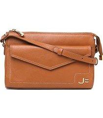 bolsa couro jorge bischoff mini bag envelope feminina