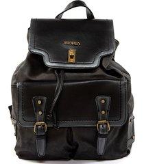 mochila negra tropea gwen