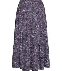 morning skirt knälång kjol blå lollys laundry