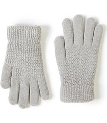lane bryant women's knit glove onesz grey