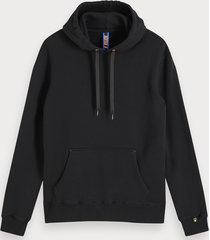 scotch & soda hoodie met artwork met kleurovergang