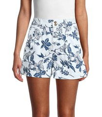 dl1961 women's dayna shorts - fleur - size 27 (4)
