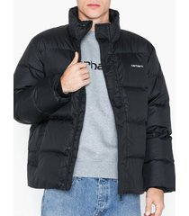 carhartt wip deming jacket jackor black/white