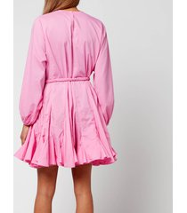 rhode women's ella dress - prism pink - xs