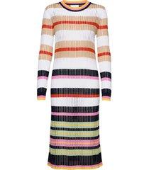 maggie dress dresses knitted dresses multi/mönstrad storm & marie