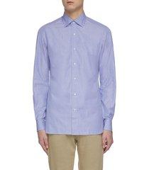 'parma' button cotton shirt