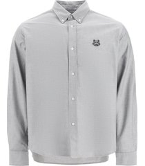 head tiger embroidered shirt