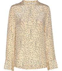 rita shirt blouse lange mouwen geel nué notes