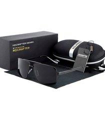 gafas lentes sol hdcrafter 8712 hombres polarizados negro