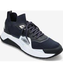 atom_runn_kn1 låga sneakers blå hugo