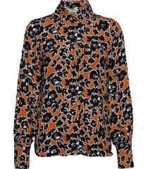 my shirt blouse lange mouwen bruin twist & tango