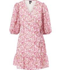 omlottklänning vmanneline 3/4 wrap dress