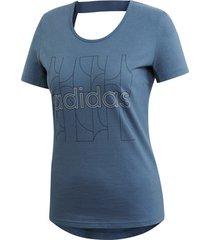 t-shirt korte mouw adidas motion tee women