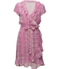 2nd elly printed korte jurk roze 2ndday