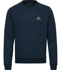belstaff sweatshirt sweat-shirt trui blauw belstaff