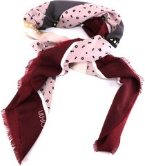 foulard liu jo 269064 t0300 dark red