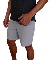 pantaloneta hurley alpha trainer plus threat para hombre - gris