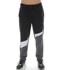 pantalon jogger, color negro para hombre