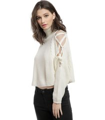 sweater nrg blanco - calce oversize