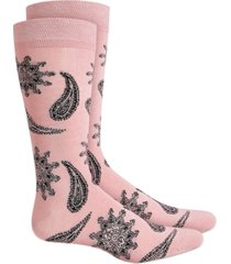 bar iii men's floral paisley socks, created for macy's