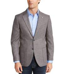 nautica men's modern-fit active stretch solid sport coat