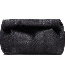 bolsa feminina clutch arapua wrap - preto