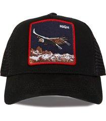 gorra negra trown headware high