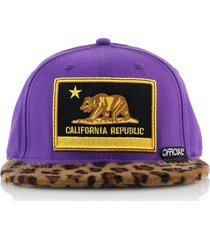 gorra violeta official cali purps