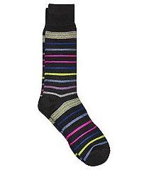 jos. a. bank comfort luxe stripe socks, 1-pair