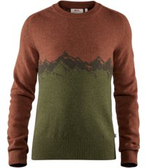 fjallraven men's greenland graphic sweater