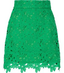 bambah kelly lace mini skirt - green
