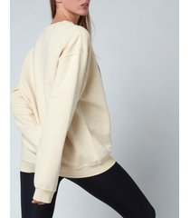 p.e nation women's destroyer sweatshirt - ivory - l