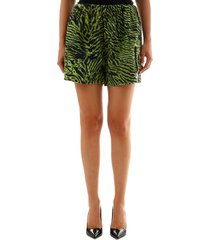 ganni soft tiger shorts