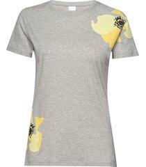 tebloom t-shirts & tops short-sleeved silver boss