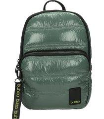 mochila toy metalizado olive verde bubba bags