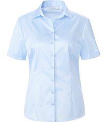 blouse 100% katoen korte mouwen van eterna blauw