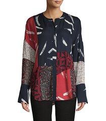 brunonia patchwork shirt