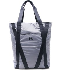 morral  azul under armour essentials zip tote