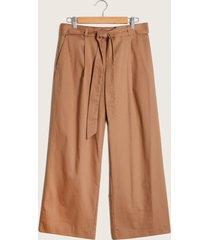 pantalon capri caqui-6