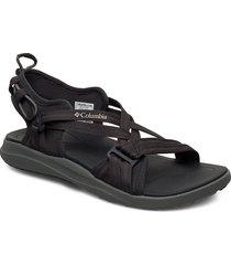 columbia™ sandal shoes summer shoes flat sandals svart columbia
