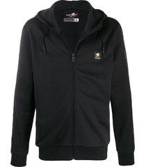 plein sport relaxed fit hoodie - black