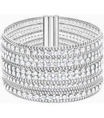 braccialetto fit, bianco, acciaio inossidabile