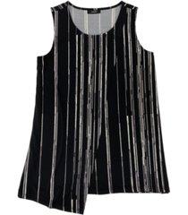 alfani asymmetrical draped top, created for macy's
