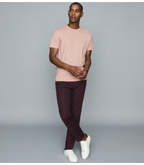 reiss bless - crew neck t-shirt in pink, mens, size xxl
