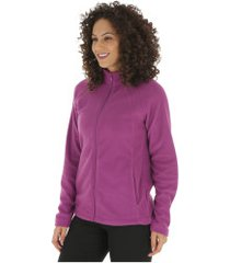 jaqueta de frio fleece nord outdoor basic new - feminina - roxo