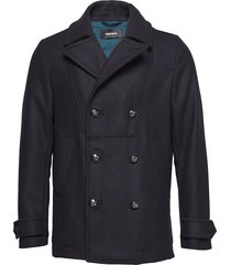 w-banfi jacket wollen jack jack blauw diesel men