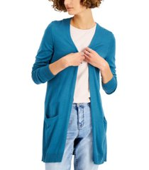 style & co petite long cardigan, created for macy's