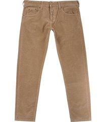 lois jeans sierra thin cord trousers - dark sand 196-50838